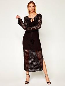 Czarna sukienka Patrizia Pepe maxi