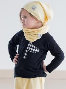 Żółta czapka Gapula z bawełny