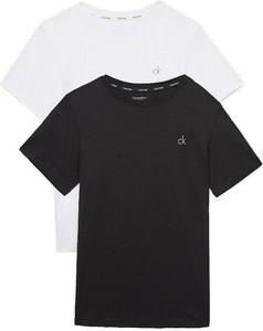 Bluzka dziecięca Calvin Klein z krótkim rękawem z bawełny