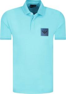 Koszulka polo Emporio Armani z krótkim rękawem w stylu casual