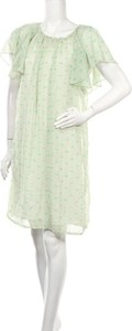 Zielona sukienka Coop mini z krótkim rękawem
