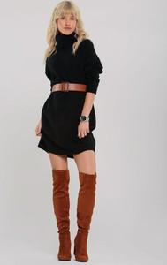 Sukienka Renee w stylu casual z dzianiny mini