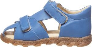 Buty dziecięce letnie Bo-bell na rzepy ze skóry