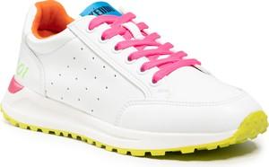Buty sportowe KEDDO z płaską podeszwą sznurowane