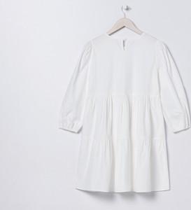 Sukienka Sinsay w stylu casual z bawełny z długim rękawem