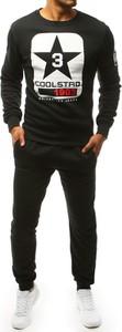 Czarny dres Dstreet z bawełny