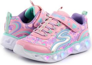 Buty sportowe dziecięce Skechers sznurowane