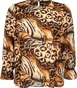 Bluzka Zizzi w stylu casual z okrągłym dekoltem