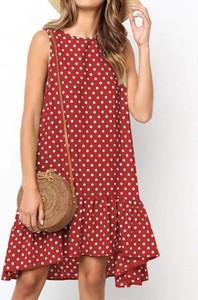 Sukienka Cikelly w stylu casual mini bez rękawów
