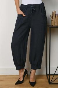 Spodnie La Compagnie Du Lin z lnu