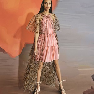 Sukienka Reserved w stylu glamour mini