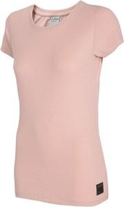 T-shirt Outhorn w sportowym stylu z krótkim rękawem