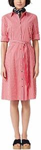 Sukienka amazon.de midi z krótkim rękawem