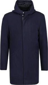 Płaszcz męski Armani Exchange z wełny w stylu casual