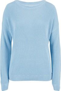 Niebieski sweter bonprix w stylu casual