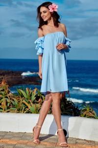 Sukienka Lemoniade z bawełny z krótkim rękawem mini