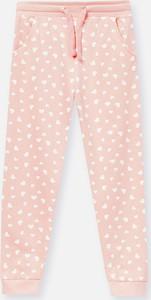 Różowe spodnie dziecięce Sinsay