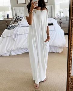 Sukienka Kendallme maxi z dekoltem w kształcie litery v z długim rękawem