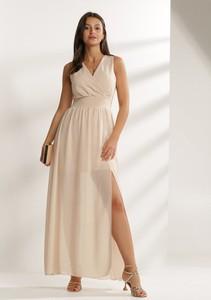 Sukienka Renee z dekoltem w kształcie litery v kopertowa maxi