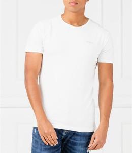 T-shirt Pepe Jeans z dzianiny w stylu casual z krótkim rękawem