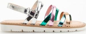 Buty dziecięce letnie Reserved w paseczki