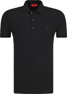 Czarna koszulka polo Hugo Boss w stylu casual