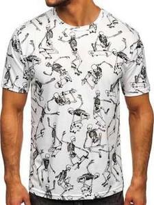 T-shirt Denley z nadrukiem z krótkim rękawem w młodzieżowym stylu