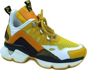 Sneakersy Lanqier na platformie