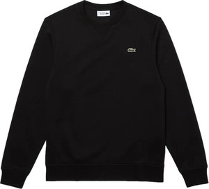 Czarny sweter Lacoste w stylu casual