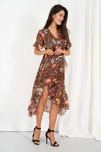 Sukienka Lemoniade z dekoltem w kształcie litery v midi