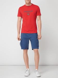 T-shirt Napapijri w młodzieżowym stylu