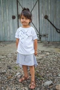 Spódniczka dziewczęca M-art-a-baby z bawełny