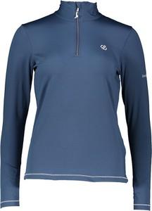 Niebieska bluzka Dare 2b z golfem z długim rękawem