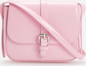 Reserved - Mała torebka listonoszka - Różowy