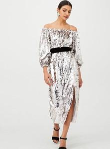 Sukienka V by Very z długim rękawem maxi