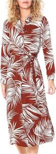 Sukienka Only z dekoltem w kształcie litery v maxi