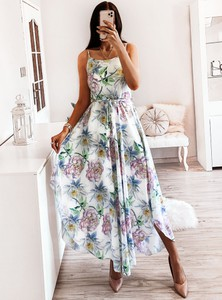 Sukienka Pakuten asymetryczna maxi