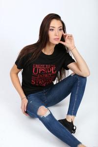 T-shirt Magia Zakupów w młodzieżowym stylu z krótkim rękawem