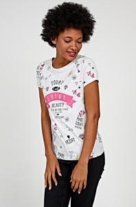 T-shirt Gate z krótkim rękawem