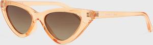 Brązowe okulary damskie Kazar Studio