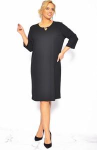 Sukienka Sukienki M&M z długim rękawem prosta