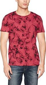 Czerwony t-shirt esprit