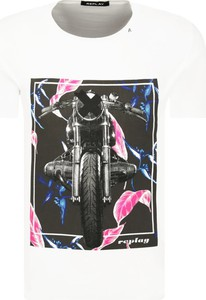 T-shirt Replay z krótkim rękawem w młodzieżowym stylu