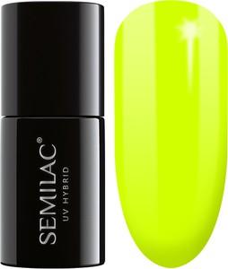 Semilac, lakier hybrydowy 040 canary green