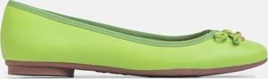 Zielone baleriny Kazar