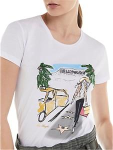 T-shirt Patrizia Pepe w młodzieżowym stylu