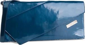 Niebieska torebka Simple na ramię