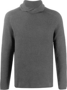 Sweter Emporio Armani z golfem w stylu casual