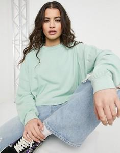T-shirt Asos z szyfonu z długim rękawem