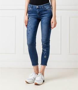 Niebieskie jeansy Desigual w stylu casual